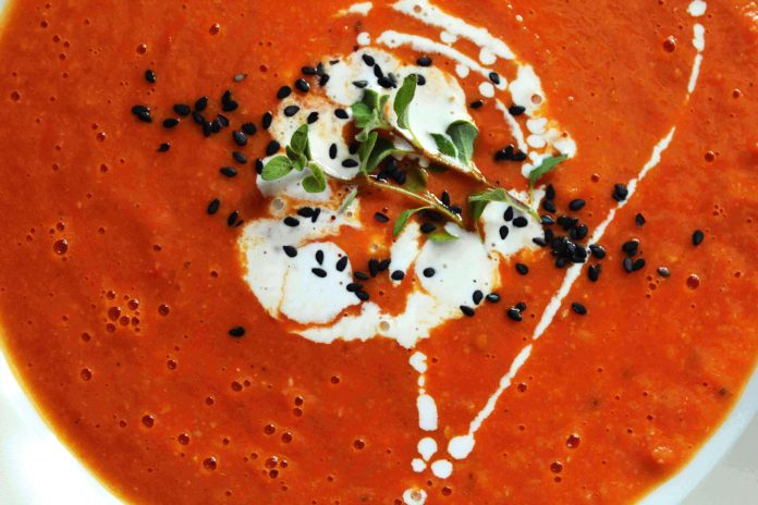 sopa de tomate e grao - myintegralis