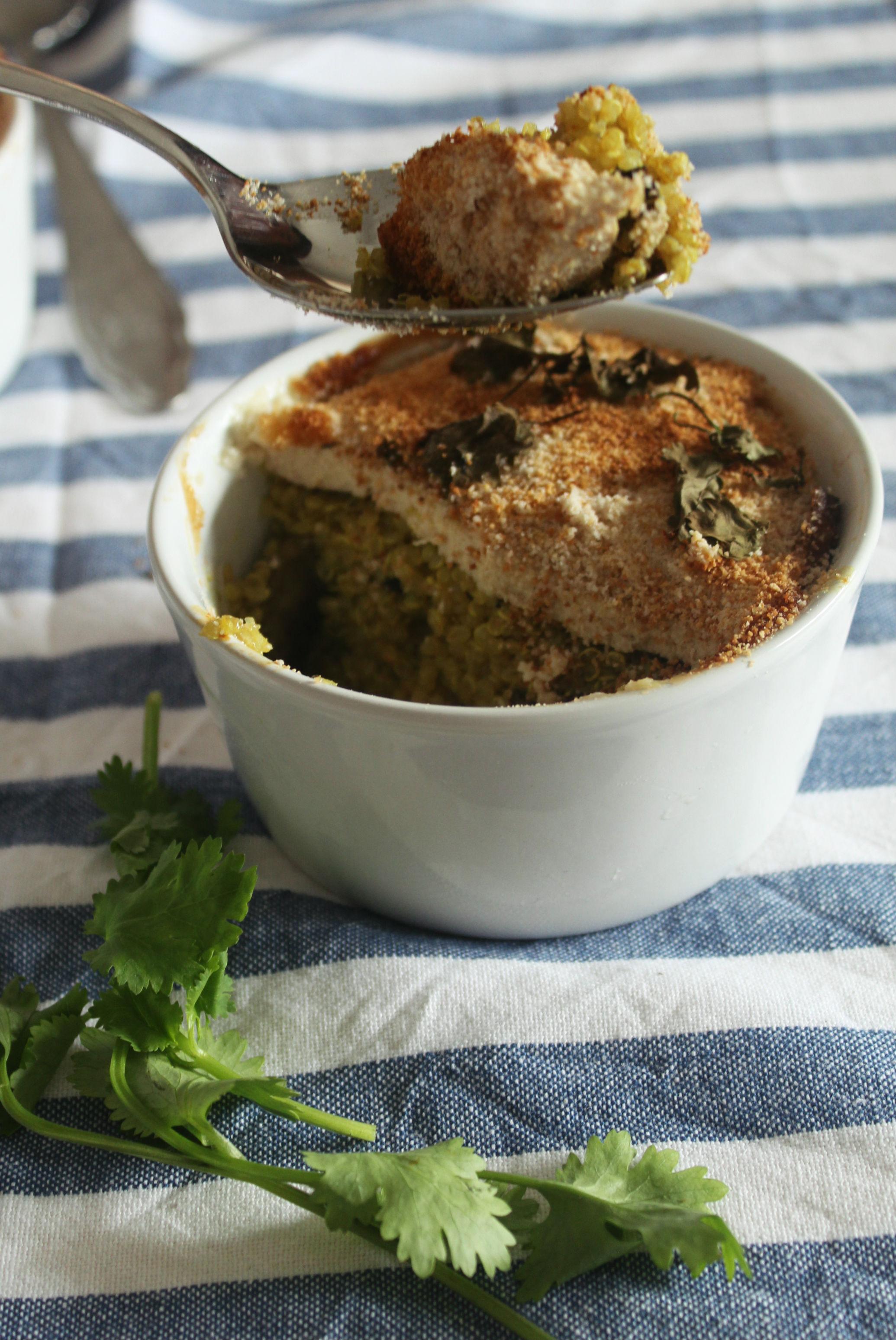 gratinado tofu quinoa cogumelos - myintegralis
