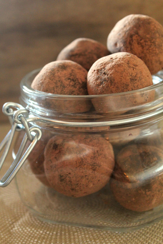 Trufas de Amendoim e Cacau - myintegralis