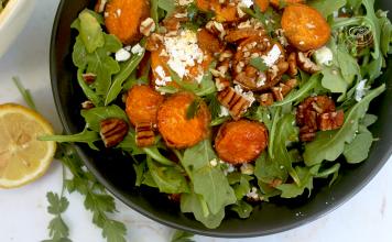 Salada de Batata Doce e Feta - myintegralis